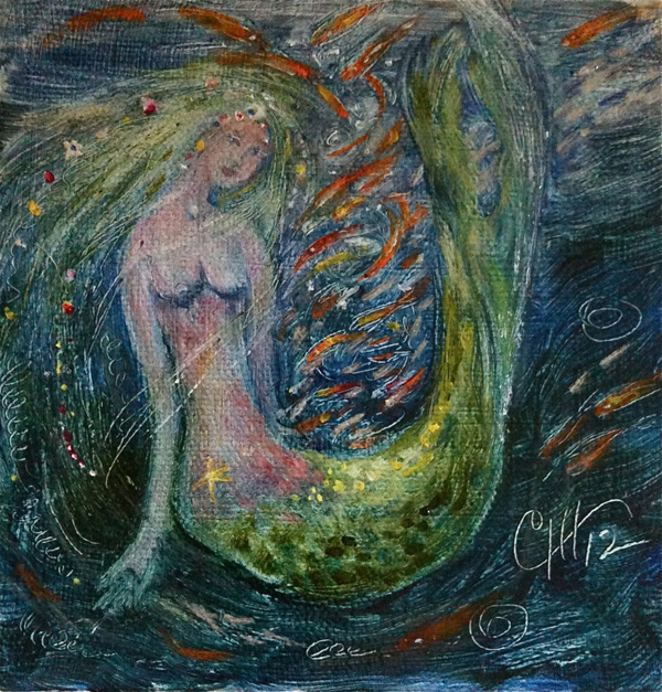 Mermaid Assuming the Form of a Chalic